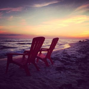 chairs beach
